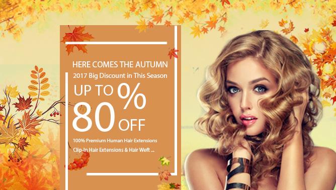 2017 Hair Extensions Autumn Sale