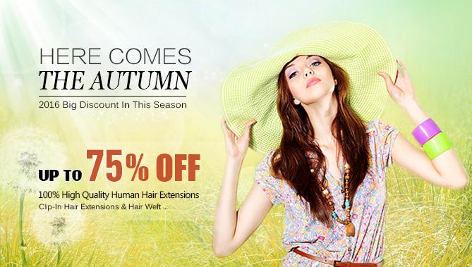 2016 Autumn Hair Extensions Sale