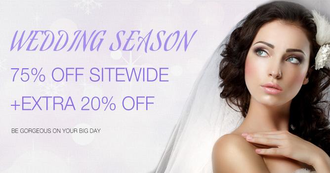 2017 Hair Extensions Wedding Season Sale