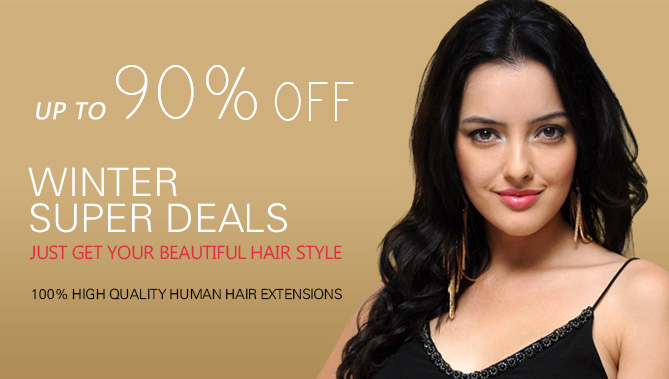2016 Winter Hair Extensions Sale