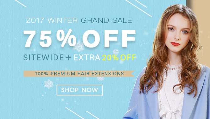2017 Hair Extensions Winter Sale