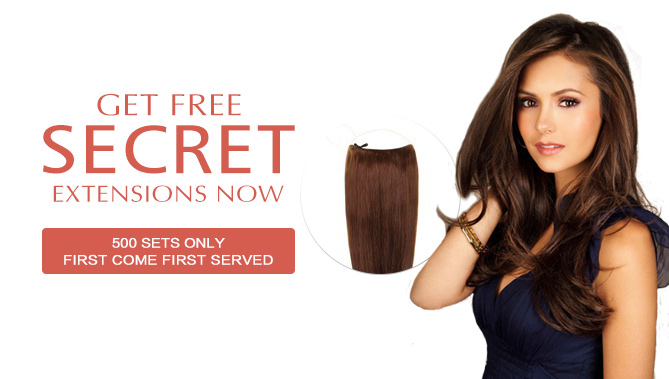 2019 Hair Extensions Saint Patrick s Day Sale Event Free Secret Extensions  ... d4d2e186a