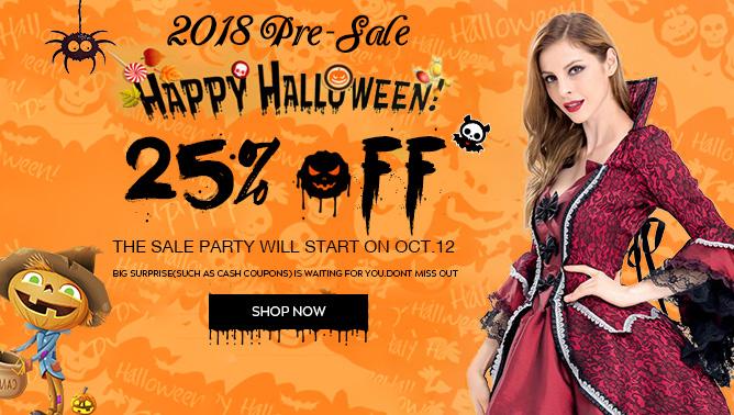2018 halloween pre Sale Event
