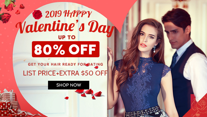 2019 Valentine's Day Hair Extensions Sale Event