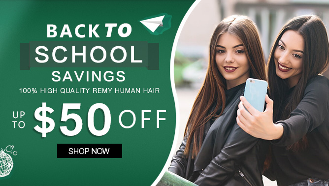 2019 Hair Extensions Back to school Sale Event