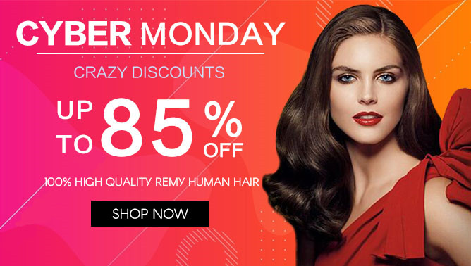 2020 Cyber Monday Hair Extensions Sale New Zealand