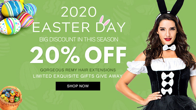 2020 Easter Day Hair Extensions Sale New Zealand