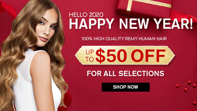 2020 New Year Hair Extensions Sale Event