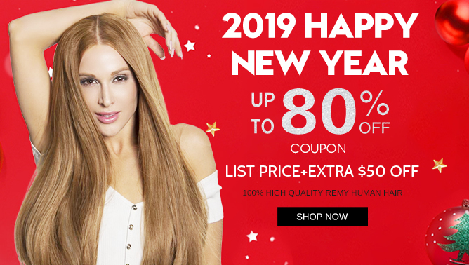 2018 New Year Hair Extensions Sale Event