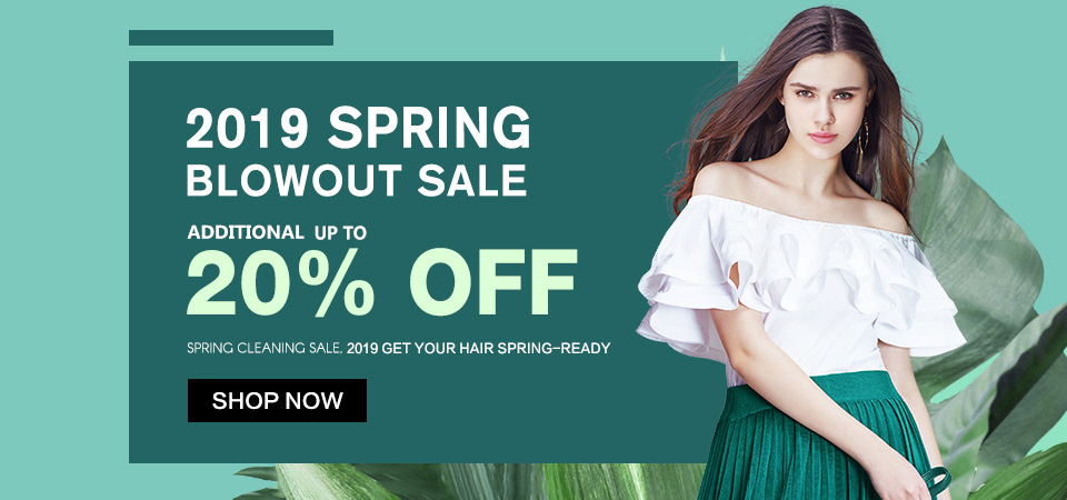 2019 spring hair extensions sale usa