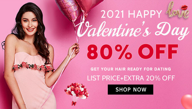 2021 Valentine's Day Hair Extensions Sale New Zealand