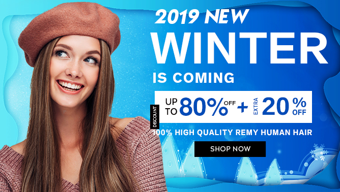 2019 Hair Extensions Winter Sale Event