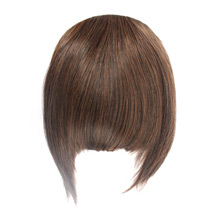Neat Bang With Hair On The Temples Flax Yellow 1 Piece