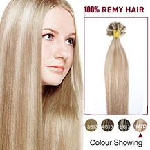 """16"""" #18/613 50s Nail Tip Human Hair Extensions"""