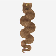 10 inches Golden Brown (#12) Body Wave Indian Remy Hair Wefts