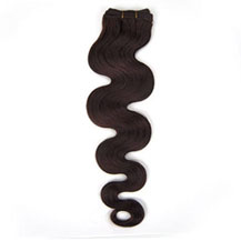 12 inches Dark Brown (#2) Body Wave Indian Remy Hair Wefts