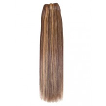 "24"" Brown/Blonde (#4/27) Straight Indian Remy Hair Wefts"