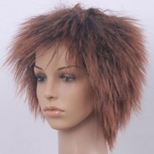 Costume Wig For Party Straight Brown
