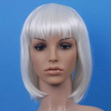 Costume Wig For Party Straight White