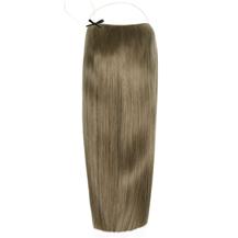 """18"""" 50g Human Hair Secret Hair Extensions Ash Brown (#8)"""