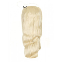 "18"" 50g Human Hair Wavy Secret Hair White Blonde (#60)"