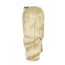 """18"""" 50g Human Hair Wavy Secret Hair Bleach Blonde (#613)"""